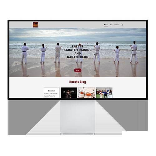 Karate Training and Blog